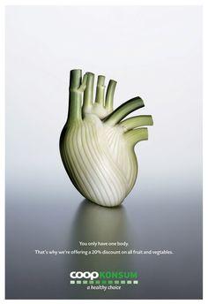 更健康的選擇 廣告海報設計