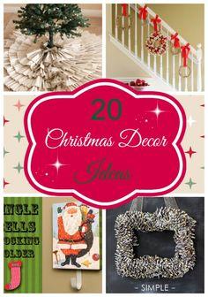 20 Christmas Decor Ideas