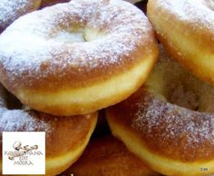 Érdekel a receptje? Kattints a képre! Hungarian Recipes, Bagel, Doughnut, Donuts, Bread, Foods, Frost Donuts, Food Food, Food Items