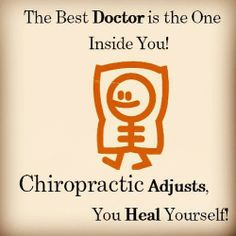 The best DOCTOR lives inside US! #Chiropractic http://DrJockers.com