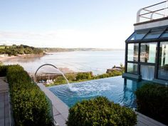 The St Brides Spa Hotel in Pembrokeshire, Wales, UK.