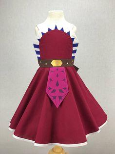 Star Wars Inspired Handmade Girl's Ahsoka Tano Dress