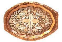 Copper Decorative Wall Plaque