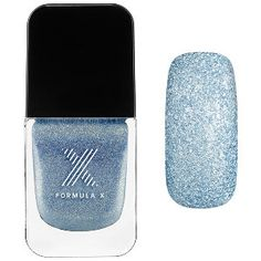 Formula X - Celestials in Free Fall - light blue  textured glitter  #sephora