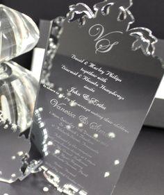 71 Best Acrylic Wedding Invites Images Acrylic Wedding Invitations