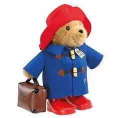 PA1102 Paddington Bear Large Classic with Boots and Suitcase