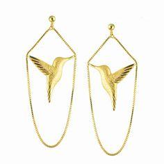 Jana Reinhardt 24ct Gold Plated Sterling Silver Hummingbird Earrings of 5.5cm Jana Reinhardt http://www.amazon.co.uk/dp/B00LI2H8ZO/ref=cm_sw_r_pi_dp_3YzLub0GX25GW
