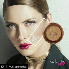 Pele natural com efeito bronzeado, quem não gosta? Pó Soleil Bronze opaco da Vult 😍 #temnacorehumor . www.corehumor.com.br contato@corehumor.com.br (51) 9 91568178 .  #corehumor #lojaeblog #lojaonline #vult #vultcosmetica #make #makeup #maquiagem #maquillaje #instamake #makelovers #beleza #beauty #beautyful #instabeauty #like4like #posoleilbronzeador #posoleilvult #posoleilbronzeopaco