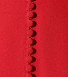 Marbella red silk dress