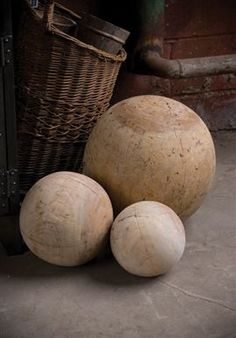 Wood balls go with anything. Seriously.