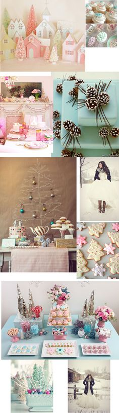 "@Sammie...How about a ""Baby, it's Cold Outside"" Shower? Winter Wonderland in pastel colors."