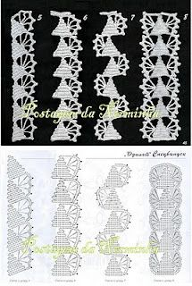 WORKSHOP OF BARRED: Crochet - Barradinhos suggestions for when Christmas comes. . .pattern