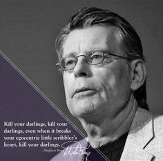 What would Stephen King's teacher Have done???
