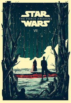 Star Wars VII por Derek Payne.