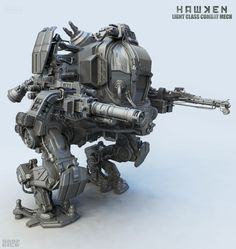Hawken new light mech concept idea