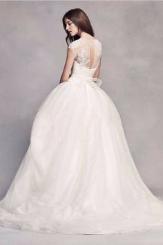 White by Vera Wang White by Vera Wang Style VW351315 Wedding Dress