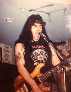Look at those bangs! Peter Steele, Type O Negative Band, Doom Metal Bands, Metal Songs, Green Man, Death Metal, Baby Daddy, Rock Music, Ikon