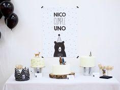 Una fiesta para un primer cumpleaños
