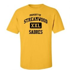 Streamwood High School - Streamwood, IL | Men's T-Shirts Start at $21.97