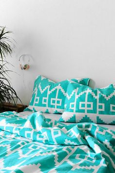 Magical Thinking Southwest Geo Sham - Set Of 2 urbanoutfitters My New Room, My Room, Dorm Room, Magical Thinking, Bedding Sets, Duvet Bedding, Dorm Decorations, Dream Bedroom, Apartment Living
