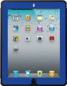 Amazon.com: OtterBox Defender Series Case with Screen Protector and Stand for the New iPad (4th Generation), iPad 2 and 3 - Blue Deep Sea: Computers & Accessories