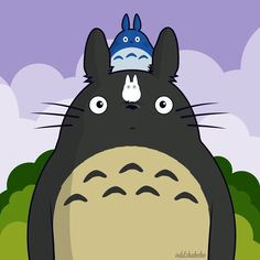 totoro by oddzoddy on DeviantArt Totoro, Studio Ghibli, Vector Art, Pikachu, Fan Art, Deviantart, Art Work, Anime, Fictional Characters