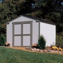 Walmart: Handy Home Marco Series Cumberland Wood Storage Shed