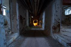 utility tunnels by Mycophagia, via Flickr