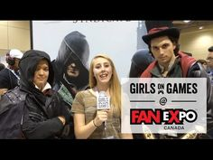 Fans React To Ubisoft Game Demos At Fan Expo 2015 | Girls on Games