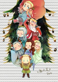 Merry Christmas. by nananagi.deviantart.com on @deviantART
