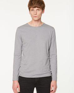 c313312491 Jost Langarmshirt Neutral Grey aus Biobaumwolle #veganemode #fairfashion