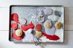 Patriotic Ice Cream Sandwiches recipes: Melt red, white, & blue. #food52