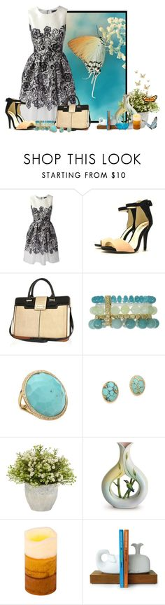"""""""Butterfly"""" by mona07 ❤ liked on Polyvore featuring Dolce&Gabbana, River Island, Ippolita, Heather Hawkins, Nearly Natural, Franz Collection, Threshold and Jonathan Adler"""