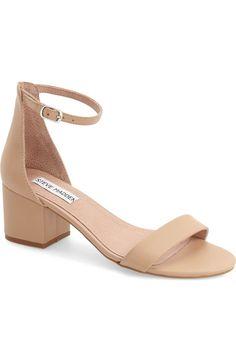 Main Image - Steve Madden 'Irenee' Ankle Strap Sandal (Women)  For Wedding?