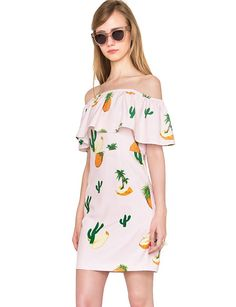 This pineapple dress is so fun.