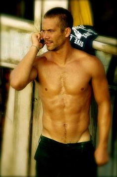 Paul Walker...Your hotness shouldn't be legal. R.I.P