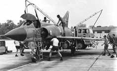 RAAF Mirage at Butterworth, Malaysia Australian Defence Force, Royal Australian Air Force, Navy Aircraft, Military Aircraft, Imperial Japanese Navy, Butterworth, South Vietnam, Aircraft Design, Army & Navy