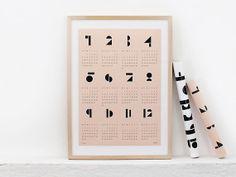 snug.calendar 2014 von snugstudio auf Etsy,