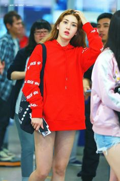 Somi Kpop Girl Groups, Korean Girl Groups, Kpop Girls, Fashion Tag, Daily Fashion, Womens Fashion, Dope Outfits, Fashion Outfits, Jeon Somi