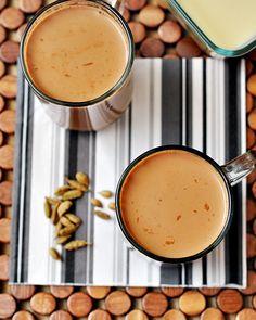Spiced Chai (Milk Tea)....use almond or coconut milk instead of milk and condensed milk...yum!