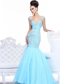 Mermaid Corset Chiffon Beaded Evening Prom Gown Formal Long Pageant Party Dress | eBay