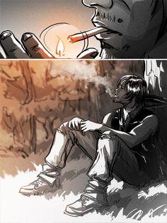 "Fan art Daryl ""Them"" 510"