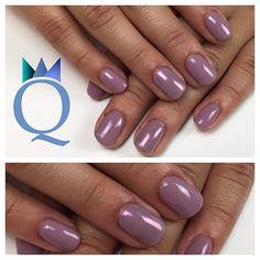 #shortnails #gelnails #nails #lilac #pinkchrome #kurzenägel #gelnägel #nägel #lila #pinkchrom #nagelstudio #möhlin #nailqueen_janine