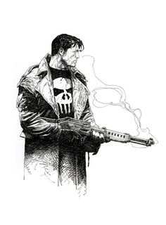 Travis Charest - Punisher (500×679)