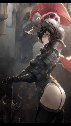 Uma mulher pode ser sexy e meiga usando armadura?