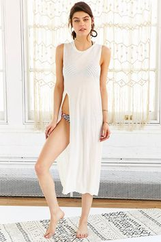 Out From Under Super Slit Cover Up - Urban Outfitters