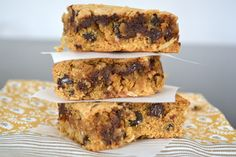 The View from Great Island | Chocolate Chip Macaroon Blondies