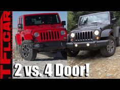 Jeep Wrangler 2 Door vs 4 Door Compared, Contrasted & Reviewed!
