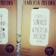 Mr Wonderful iPhone cases! Carcasas para iPhone de Mr Wonderful!. Truths.- if you can dream it you can do it.