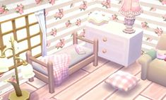 Image discovered by Muffin l 花びら. Find images and videos about cute, kawaii and pastel on We Heart It - the app to get lost in what you love. Animal Crossing Guide, Animal Crossing Pocket Camp, Animal Games, My Animal, Motif Acnl, Ac New Leaf, Happy Home Designer, Messy Room, Gamer Room